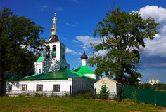 Saviour Transfiguration Church at Vladimir Stock Photo
