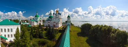 Saviour-Yakovlevsky monastery Royalty Free Stock Photography