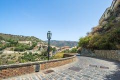 Savoca village, Sicily Stock Images