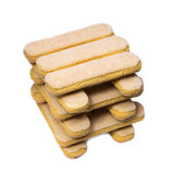 Savoiardi italian sponge Stock Photos