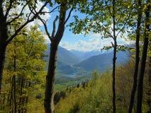 Savoie landskap Fotografering för Bildbyråer