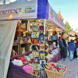 Savon在国际街市上的de普罗旺斯 免版税库存图片