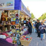 Savon在国际街市上的de普罗旺斯 库存图片