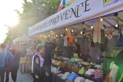 Savon在国际街市上的de普罗旺斯 库存照片