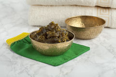 Savon Beldi in the Hammam Royalty Free Stock Image