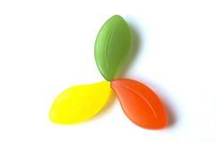 Savon coloré Photo stock