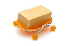 Savon dans le savon-paraboloïde Photos stock