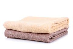 Savon et serviette Image libre de droits