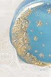Savon fabriqué à la main de lune Image stock
