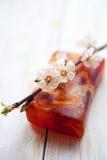 Savon fait main naturel de fleur Images stock