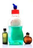 Savon liquide et pétroles images stock