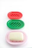 Savon sur un paraboloïde de savon photos libres de droits