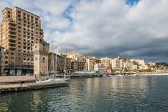 Savona άποψη προκυμαιών πόλεων, Ιταλία Στοκ φωτογραφία με δικαίωμα ελεύθερης χρήσης