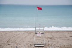 Savona beach with views of the beach establishments Royalty Free Stock Photo