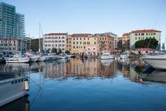 Savona Italien Arkivbild