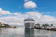Cruises terminal in Savona, Italy Stock Photography