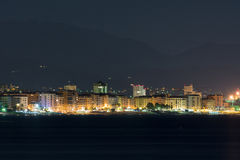 Savona at night Stock Photography