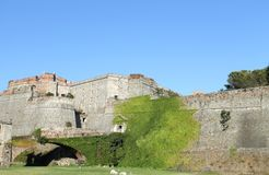 Savona - Priamar fortress. View of Priamar fortress in Savona, Italy Royalty Free Stock Images