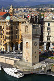 Savona - view of the port Royalty Free Stock Photography