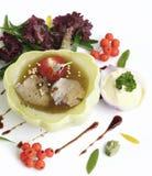 Savory appetizer Stock Photography