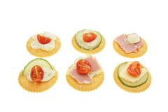 Savory biscuits Stock Photo