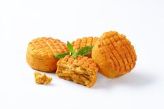 Savory biscuits Stock Image