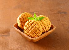 Savory biscuits Royalty Free Stock Image