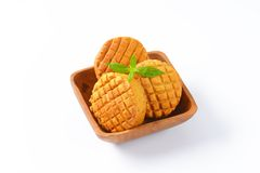 Savory biscuits Royalty Free Stock Photography