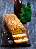 Savory bread loaf Royalty Free Stock Photography