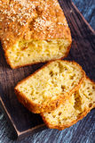 Savory bread loaf Royalty Free Stock Photo