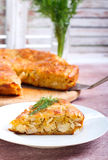 Savory cake Royalty Free Stock Photo