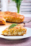 Savory cake Royalty Free Stock Photography