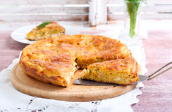 Savory cake Royalty Free Stock Images
