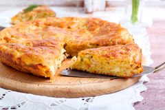 Savory cake Stock Photos
