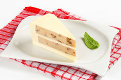 Savory cheese cake Stock Image