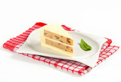 Savory cheese cake Royalty Free Stock Photo
