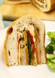 Savory Cob Loaf Slice Stock Images