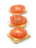 Savory Crackers Royalty Free Stock Photography