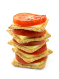 Savory Crackers Royalty Free Stock Photos