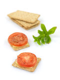Savory Crackers Stock Photography