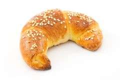 Savory croissant Royalty Free Stock Photography
