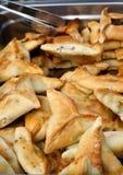 Savory filling pies Stock Image