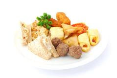 Savory food Stock Images