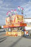 Savory food booth Stock Image