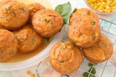 Savory muffins Royalty Free Stock Photo
