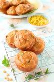 Savory muffins Royalty Free Stock Image