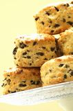 Savory olive scones Royalty Free Stock Image