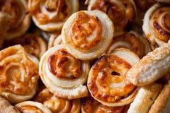 Savory pastries Royalty Free Stock Image