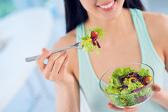 Savory salad Stock Photo
