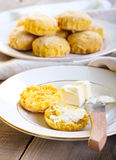 Savory scones Royalty Free Stock Image